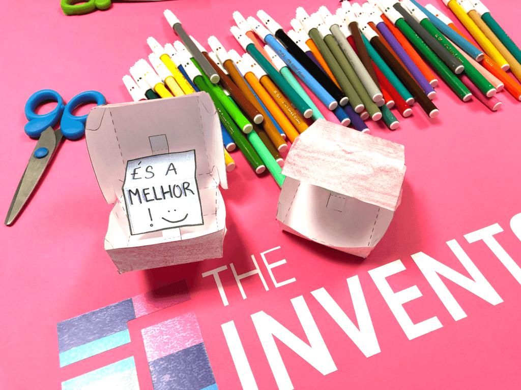 Caixa dia da Mãe - The Inventors Digital