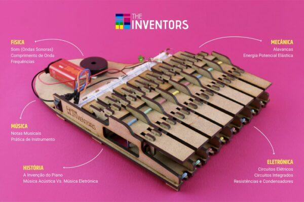 The Inventors - Atelier Digital Piano Eletrónico