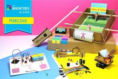 The Inventors In A Box Marconi Férias