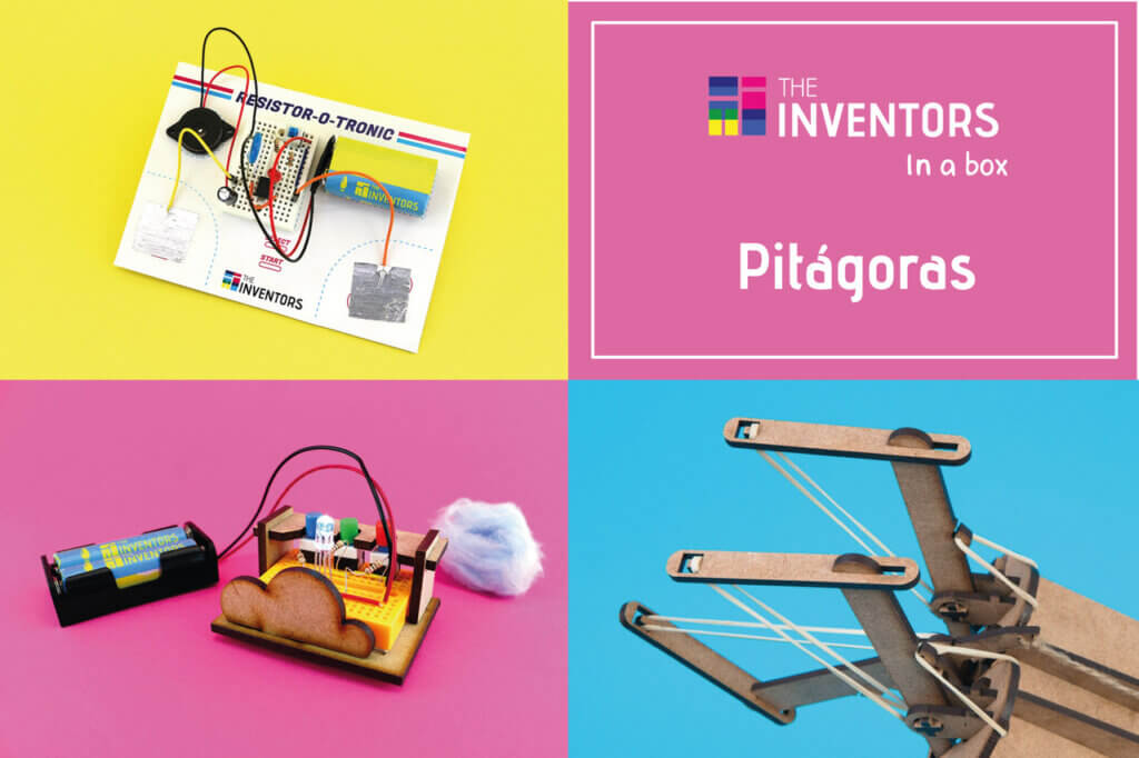The Inventors in a Box Presente de Natal